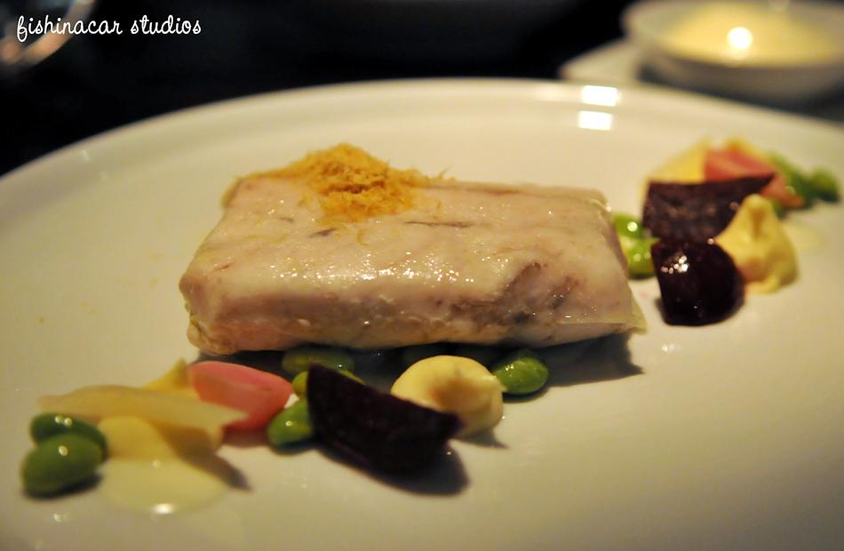 Poached Barramundi